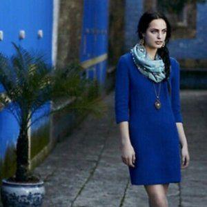 Anthropologie Violet Lousa Shift Dress by Ganni